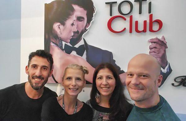 """Tangonautics mit Virginia Gomez & Christian Marquez (""""Los Totis"""") in Buenos Aires"""