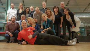 Tango Argentino in der Schrannenhalle Muenchen mit Gastlehrer Andreas von Tangonautics