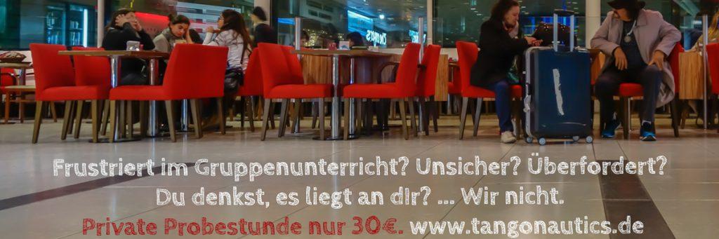Tango Privatunterricht München - Schnupperstunde bei Tangonautics nur 30€