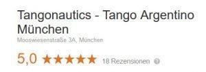 5 Sterne Tangoschule in München - Laut Google die Nummer 1
