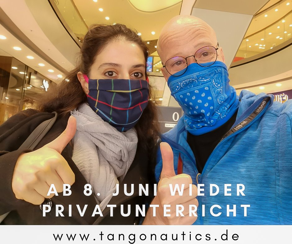 Tango Privatunterricht wieder in München ab dem 8. Juni!